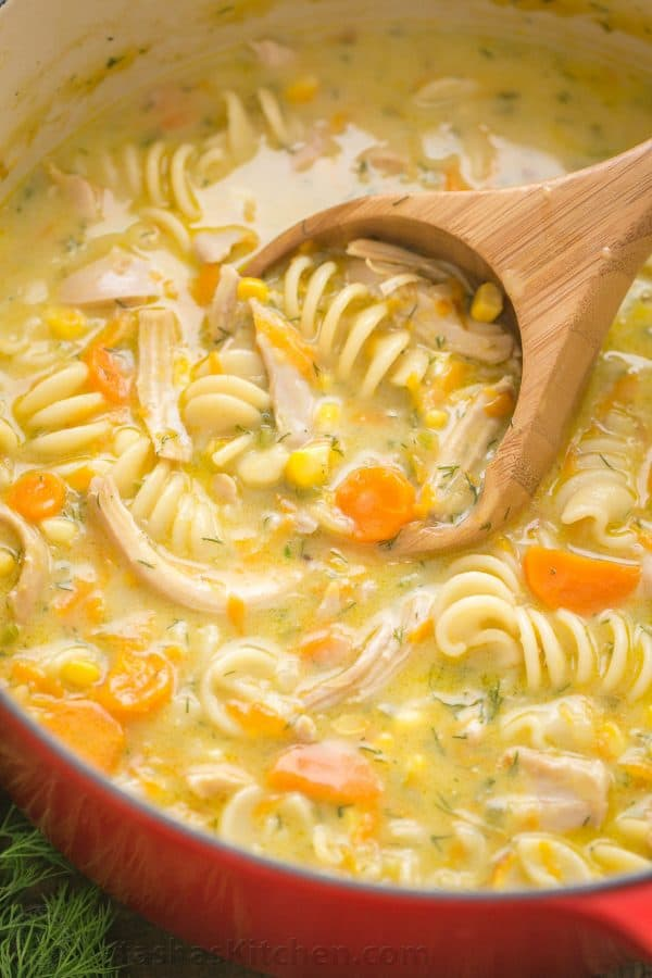recipe for noodles for chicken noodle soup