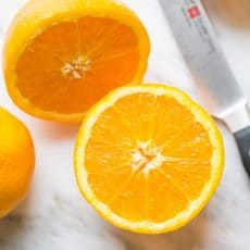 Watch this video on how to cut an orange in 3 creative ways. Oranges are perfect for decorating cakes, creating beautiful fruit platters, and in salads! | natashaskitchen.com