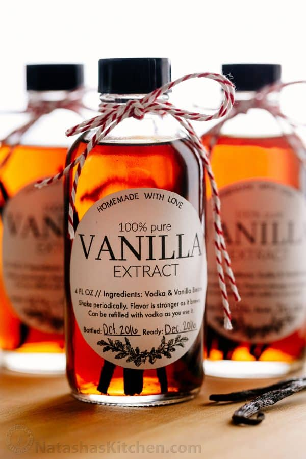 to make vanilla extract with 2 ingredients! Homemade vanilla extract ...