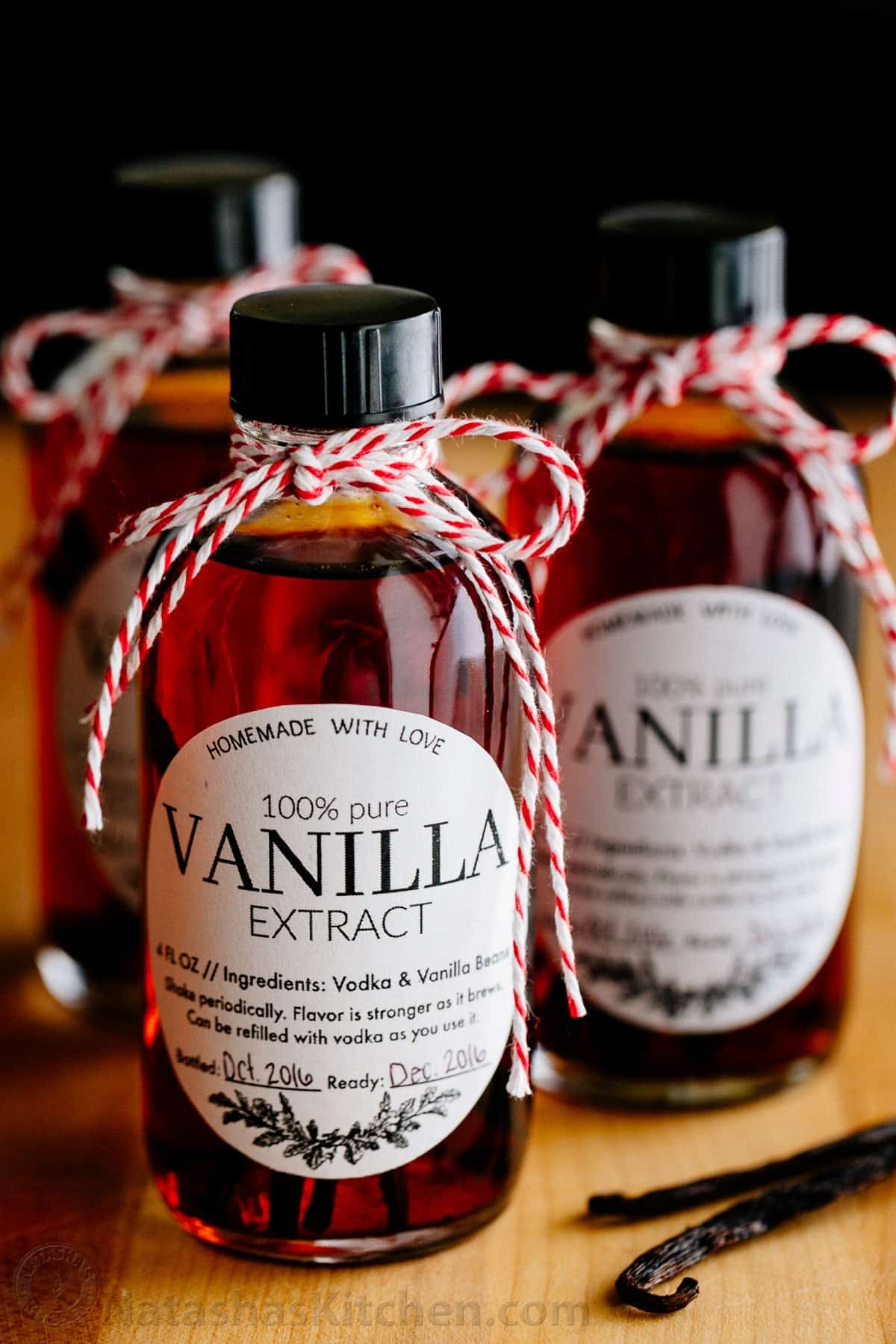 Vanilla Extract Recipe - How to Make Vanilla Extract - NatashasKitchen