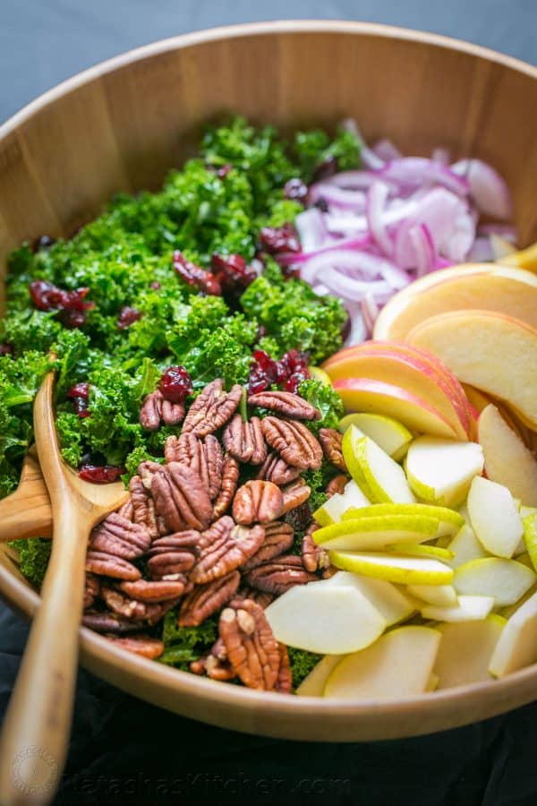 ... dressing softens kale and makes it so fresh. Easy, excellent kale