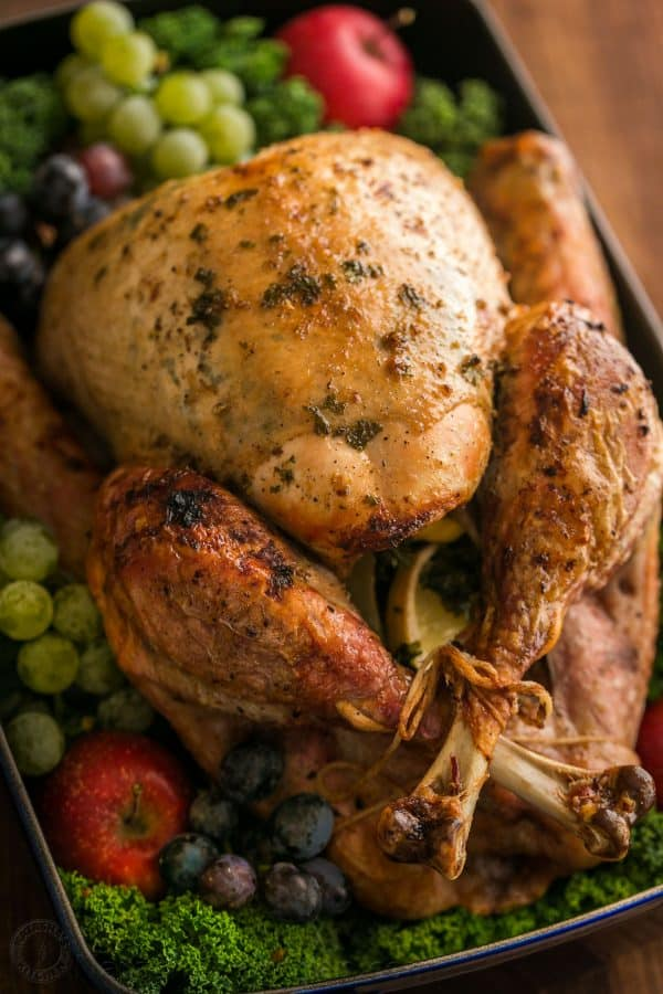 Making a juicy and flavorful Thanksgiving Turkey is easier than you think! A Video for how to make a Thanksgiving Turkey Recipe that your guests will love! | natashaskitchen.com