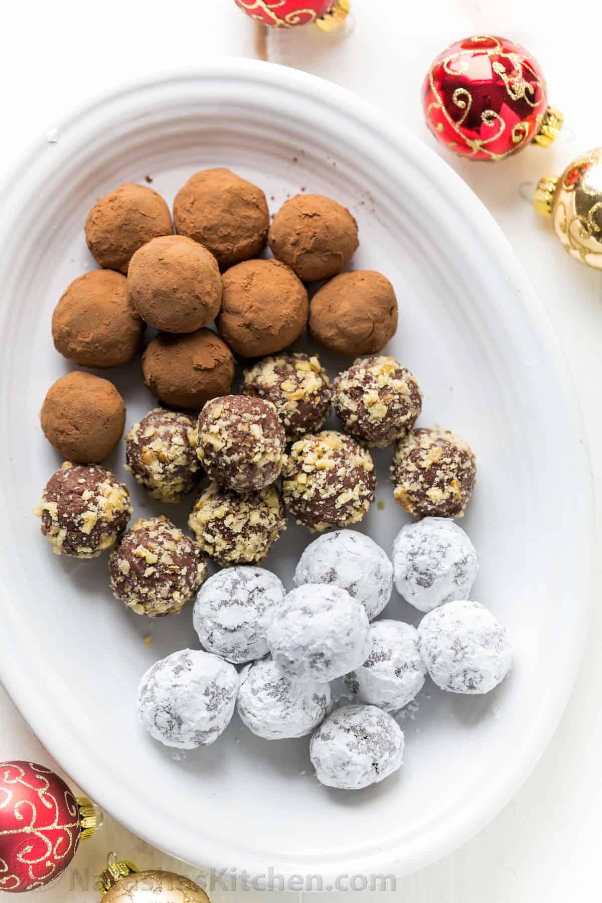 Chocolate Truffles Recipe - NatashasKitchen.com