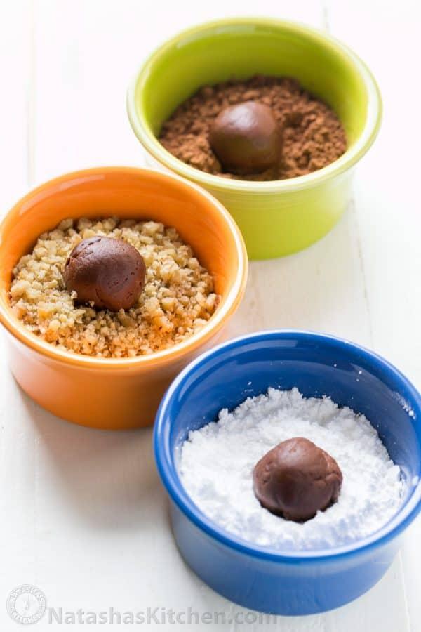 Chocolate Truffles (The Easy Way) Recipe — Dishmaps