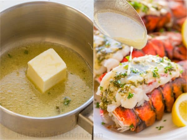 Lobster Tails Recipe with Garlic Lemon Butter ...