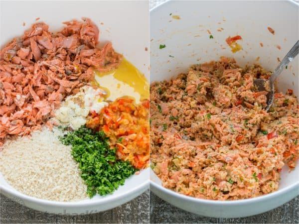 Salmon Burgers with Rice and Arugula advise