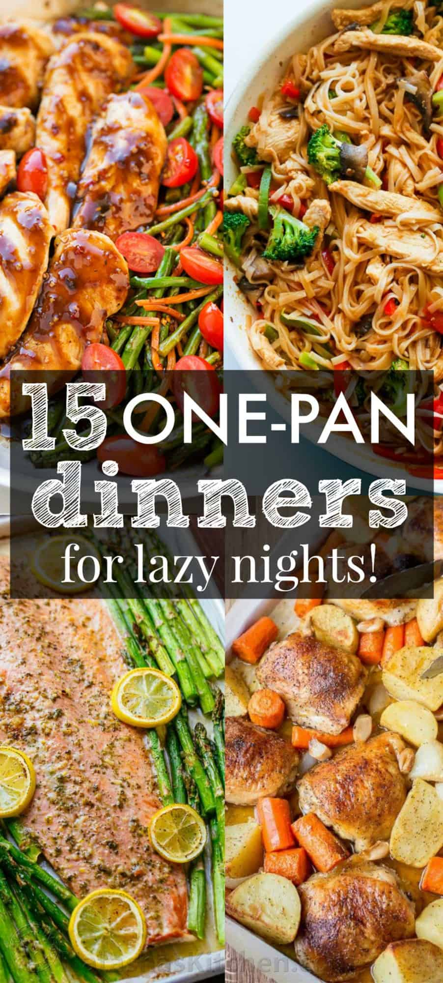 dinner recipes pan easy meals healthy food kitchen pot natashaskitchen excited dinners dish recipe natasha simple creative most sheet these