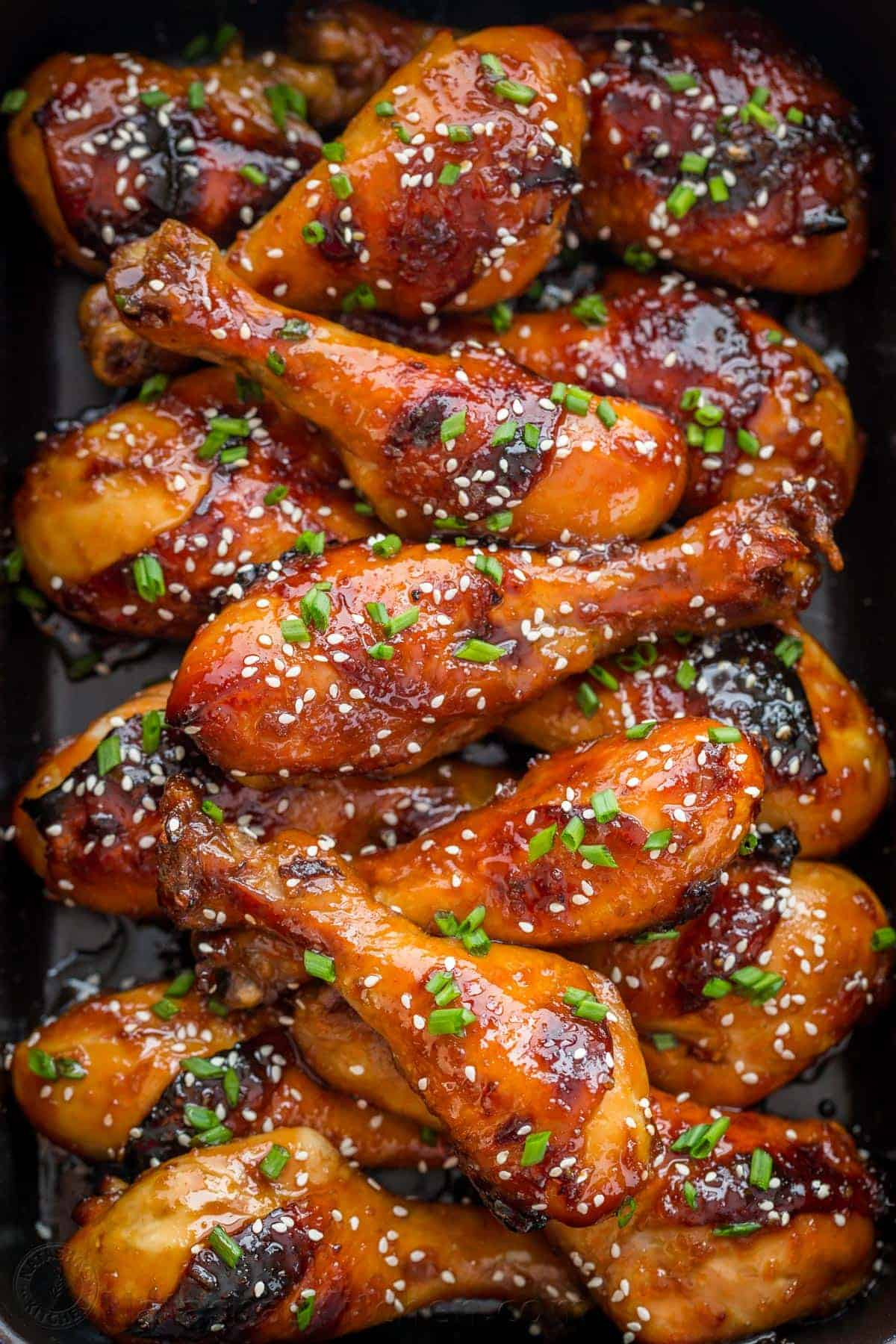 Baked Honey Glazed Chicken Recipe Natashaskitchen Com