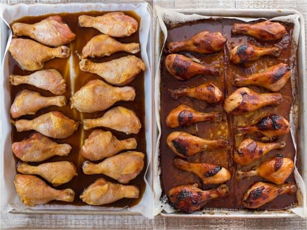 baked honey glazed chicken recipe. Black Bedroom Furniture Sets. Home Design Ideas