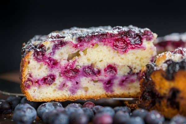 Blueberry Lemon Cake Recipe Video Natashaskitchen Com
