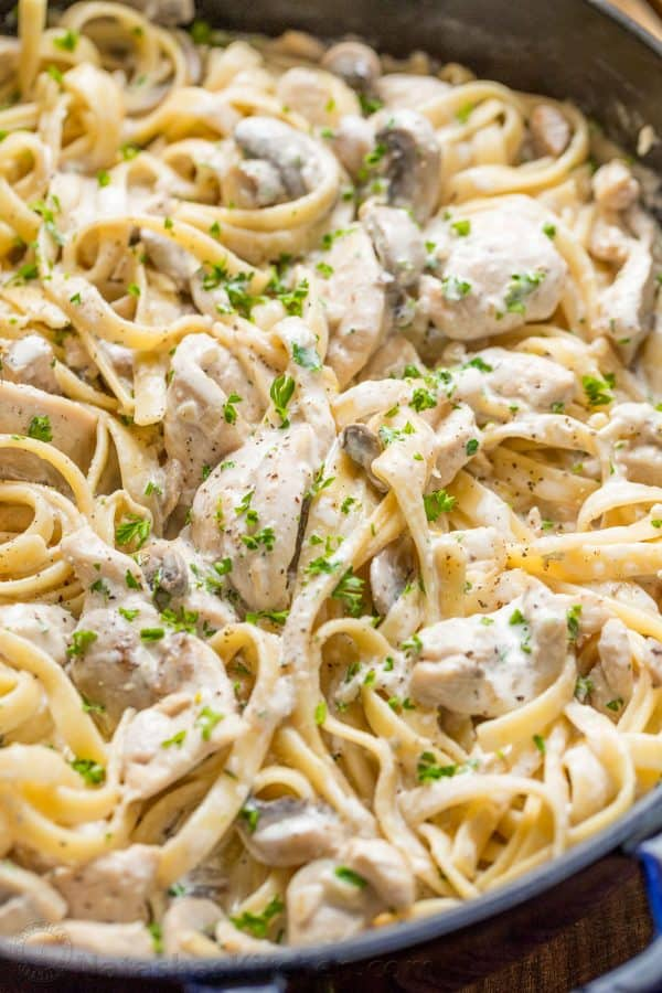 Photo of Creamy Chicken Alfredo or Chicken Fettuccini Alfredo
