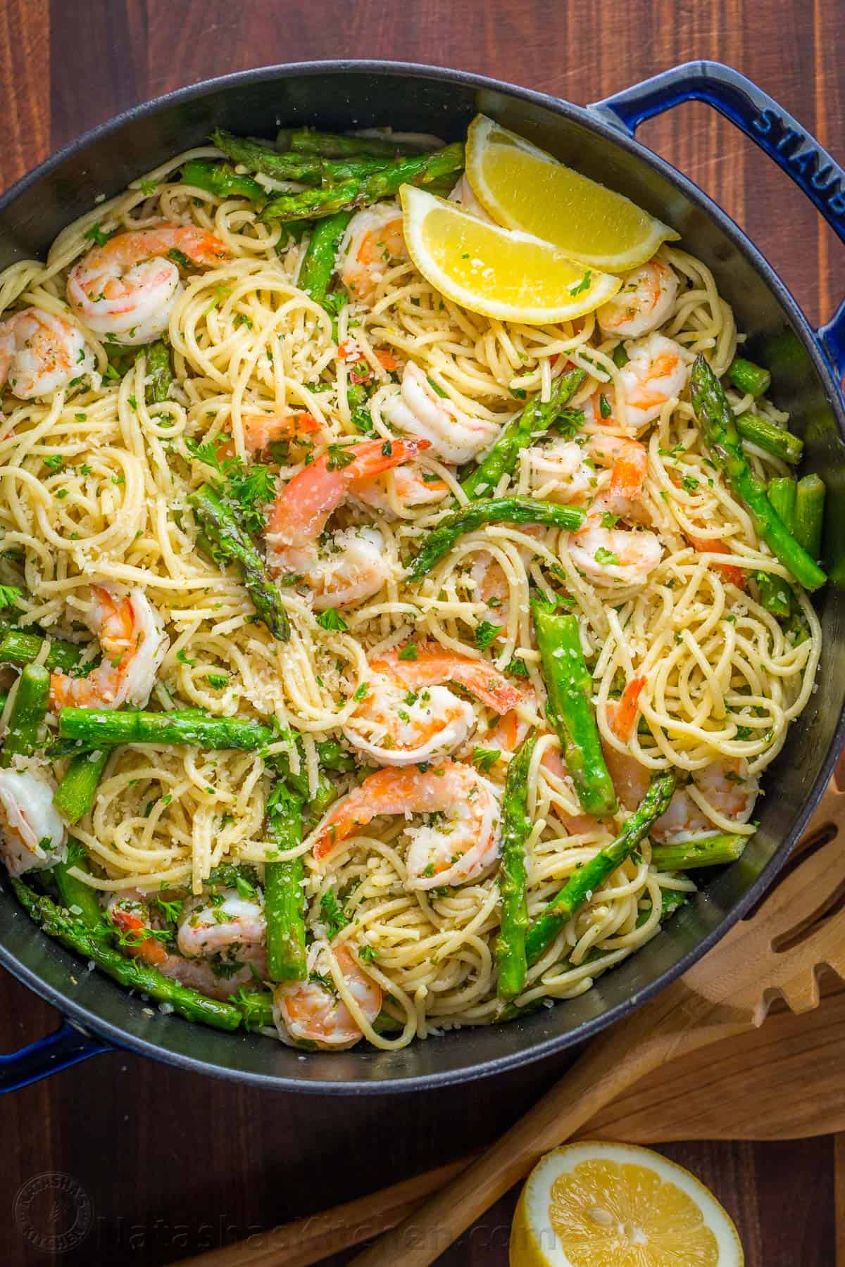 pasta and asparagus This lemony orzo pasta with asparagus is a perfect spring dish ad some  chicken or shrimp and you have a whole dinner.