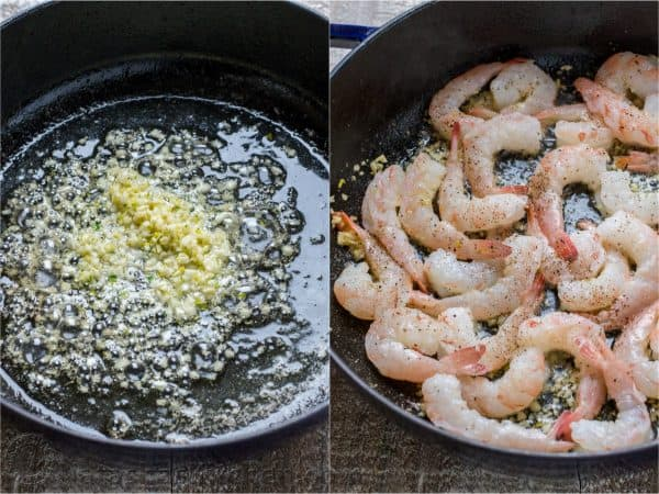 How to cook shrimp scampi