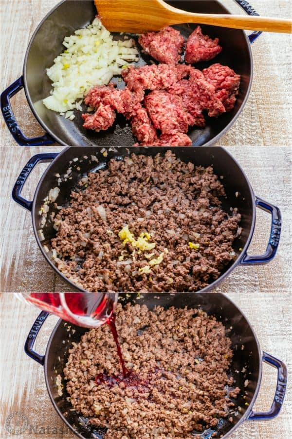 How to make meat sauce for crockpot lasagna