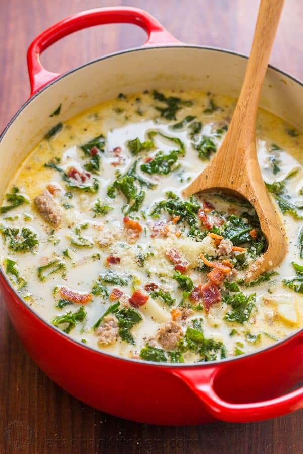 Zuppa Toscana Recipe - Olive Garden Copycat (VIDEO ...