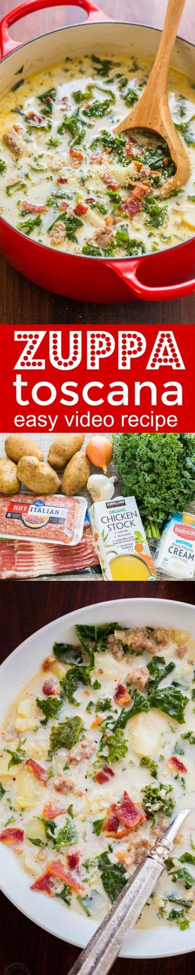 Zuppa Toscana Recipe Olive Garden Copycat VIDEO