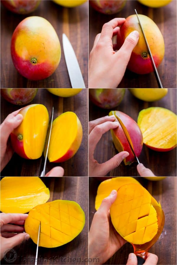 How to Cut a Mango, How to Remove a Mango Seed, How to Slice a Mango, Mango Cake, Mango Recipes