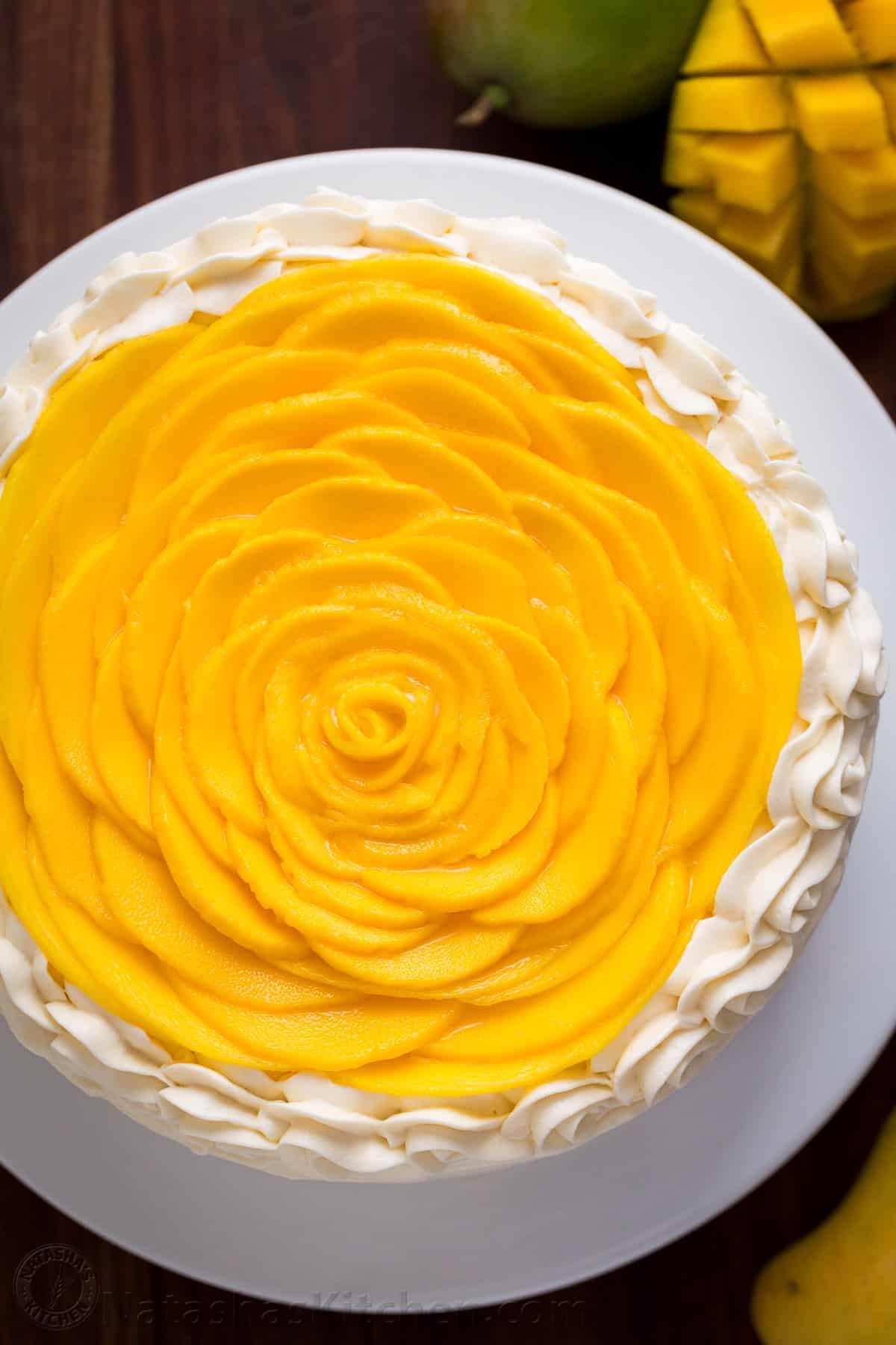 Mango Cake Recipe Video