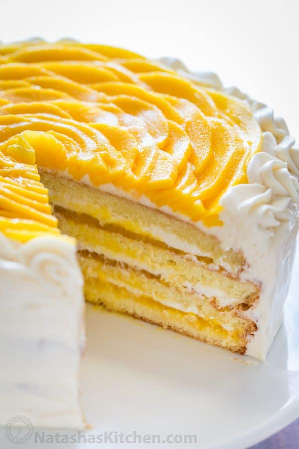 How To Make Mango Sponge Cake