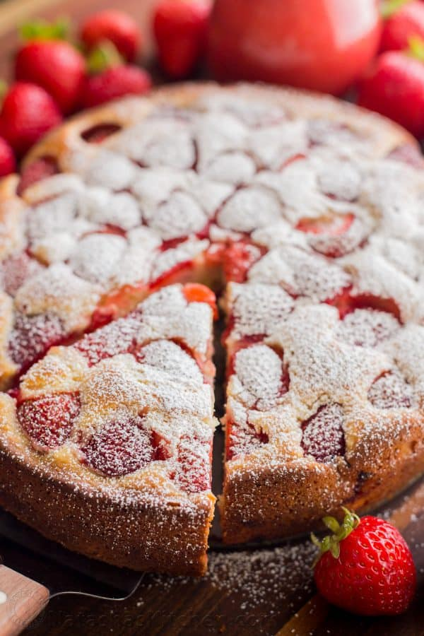 Recipe For White Cake With Fresh Strawberries
