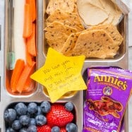 Finally!! Kid-Approved School Lunch Ideas - wholesome and fun to eat! Includes hot school lunch thermos options. Bonus: easy kid-friendly yogurt parfait! | natashaskitchen.com