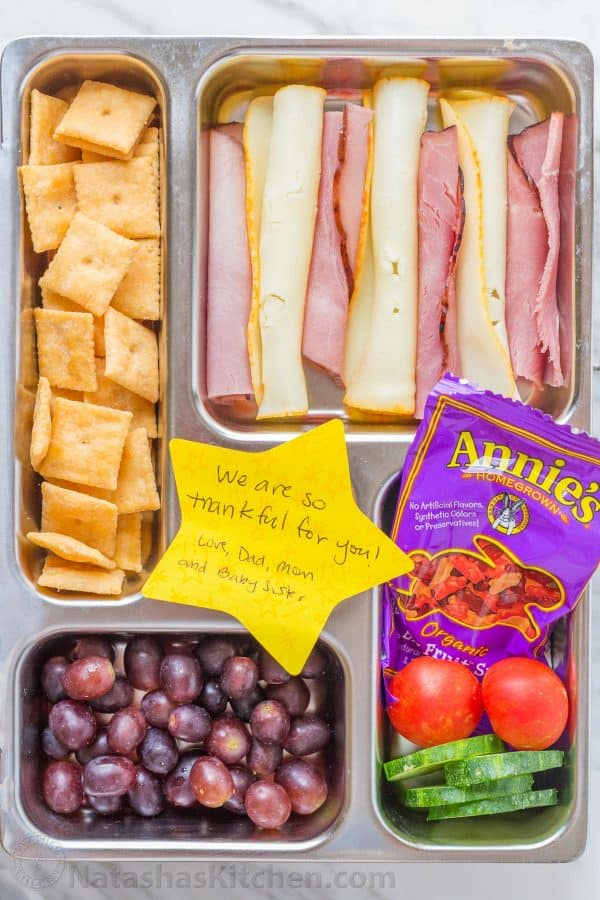 School Lunch Ideas Kid Friendly Yogurt Parfait