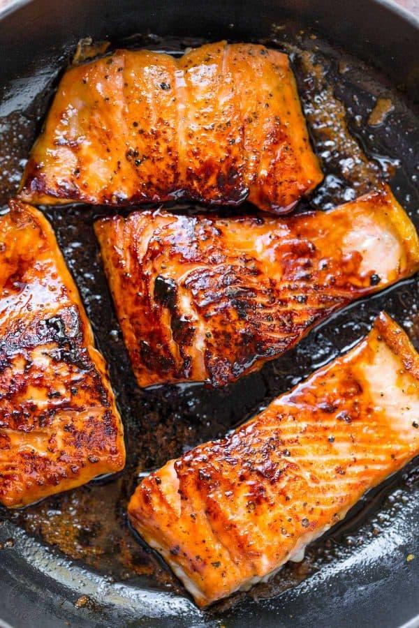 Honey Glazed Salmon Recipe Insidive