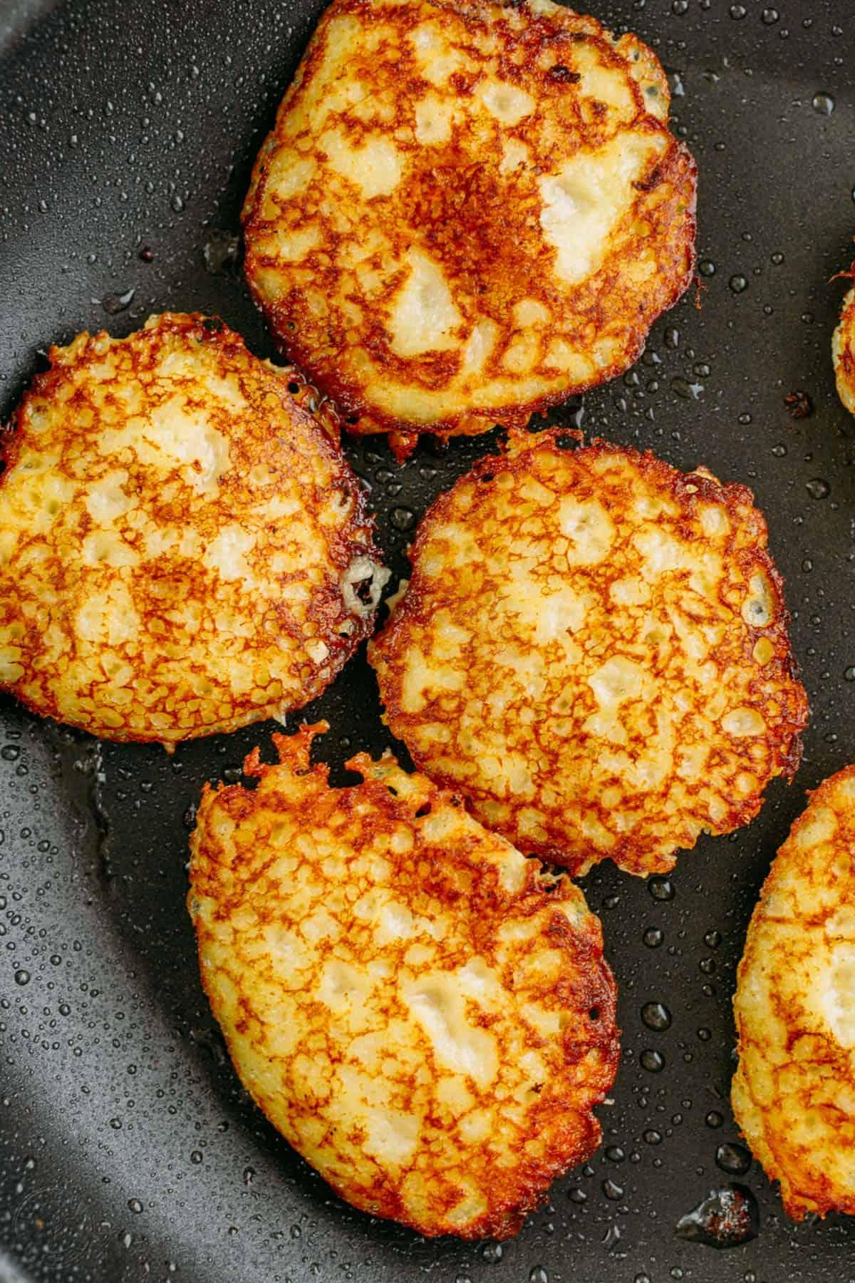 Draniki from potatoes. Recipe