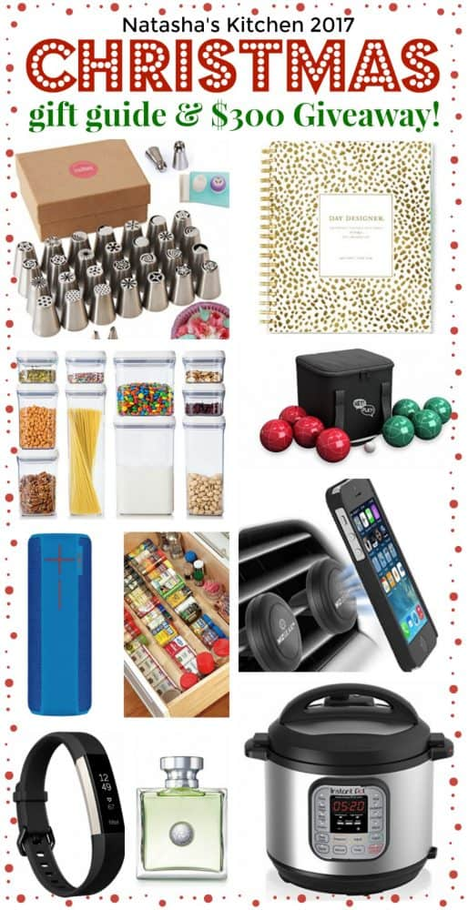 Our 2017 annual Christmas gift guide is here with 25 new gift ideas (#7 is a must-see!) This holiday gift guide is perfect for everyone on your list! | natashaskitchen.com