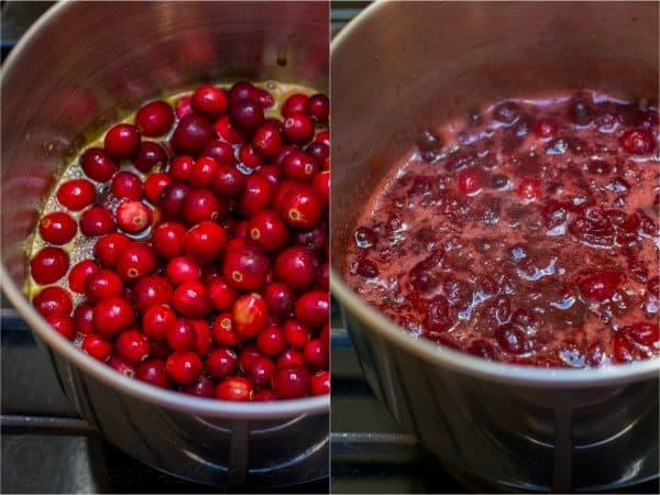 Cranberry Sauce Recipe with Orange & Honey 2