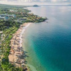 Maui Family Vacation and Travel Tips with Gorgeous Maui Drone Photography | natashaskitchen.com