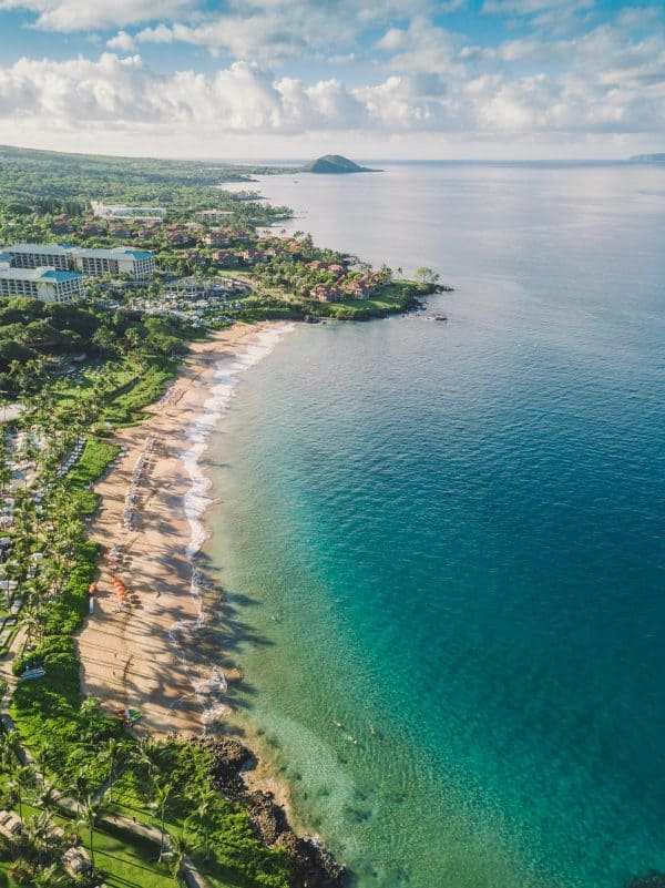 Maui Family Vacation and Travel Tips with Gorgeous Maui Drone Photography | natashaskitchen.com