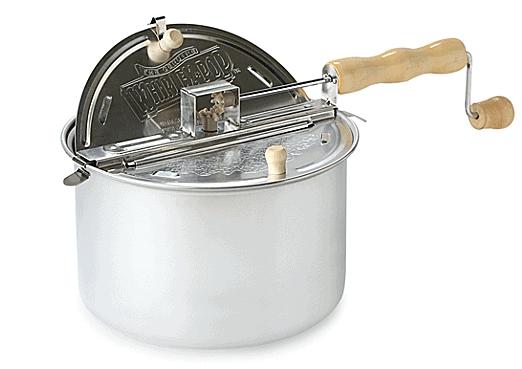 Stovetop popcorn maker