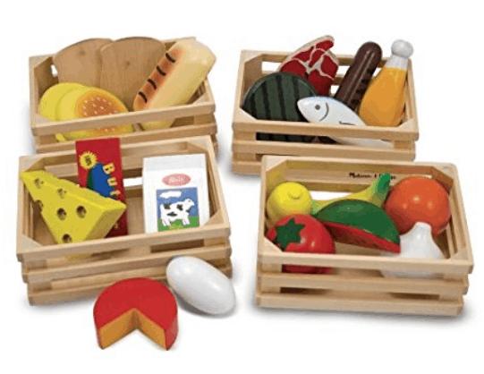 Plastic food toys