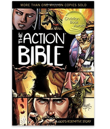 A book called The Action Bible