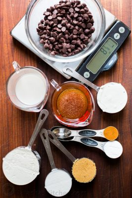 How to measure ingredients for recipes. Video on how to measure all kinds of dry and liquid ingredients. Measuring incorrectly could mean disaster in baking | natashaskitchen.com