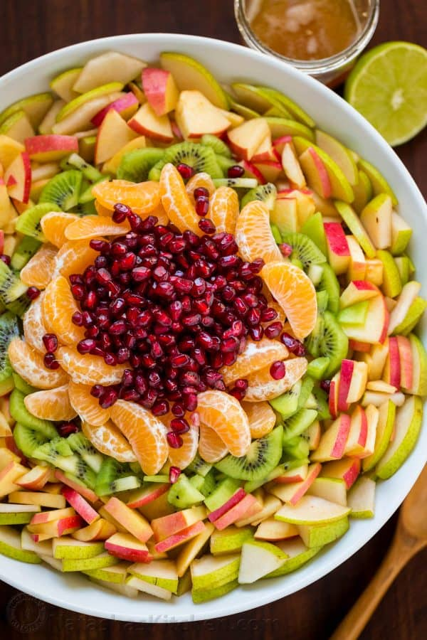Winter fruit salad is refreshing and loaded with the best fruits of winter. The lemon-lime-honey syrup is lip-smacking good! You'll be running for refills! Our Favorite Winter Fruit Salad!