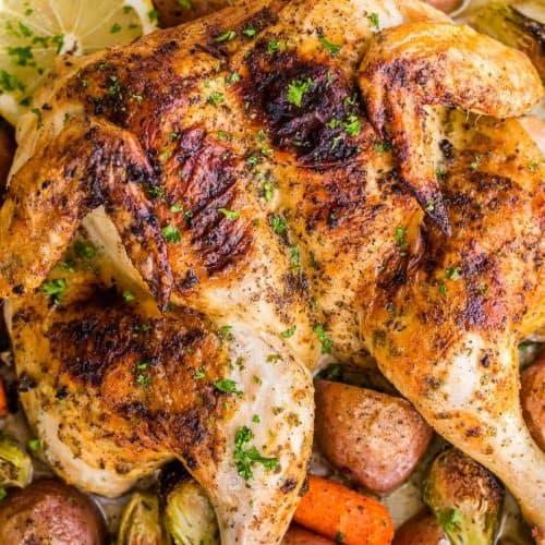 Spatchcock Chicken Recipe Video Natashaskitchen