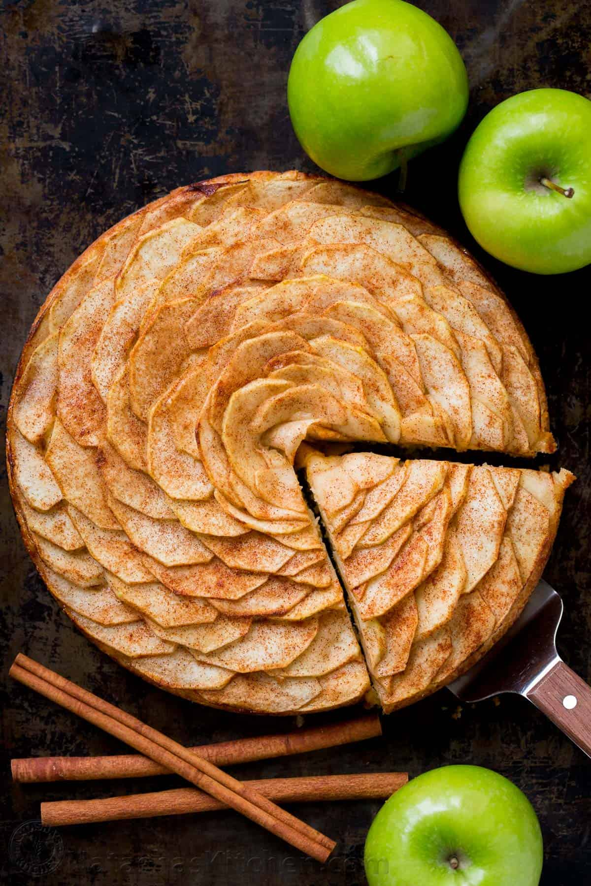 Apple Tart Recipe Apple Rose Tart Natashaskitchen Com