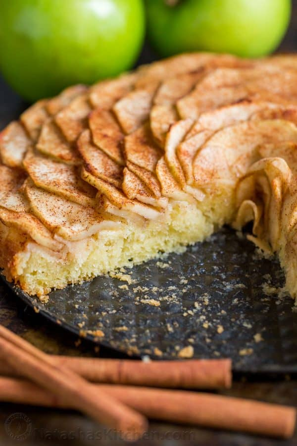 This Apple Tart is a looker! It's crowned with a beautiful rose pattern of sliced apples (and it's easier than you think!). The juices from the cinnamon-sugar coated apple slices, bake into the buttery soft crust. This apple rose tart is lightly sweet and completely irresistible.