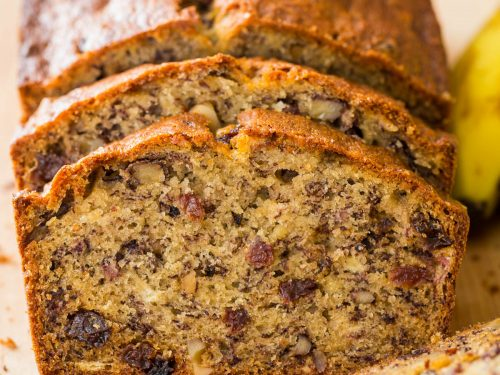 Moist Banana Nut Bread Recipe