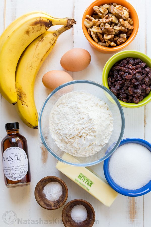 Banana Bread Ingredients how to ripen bananas for banana bread recipes