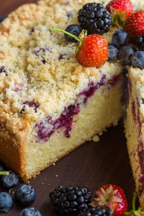 Berry Crumb Cake Recipe