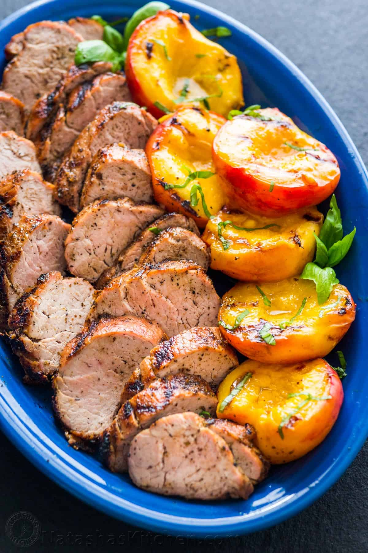 pork tenderloin grilled recipes peaches tender natashaskitchen recipe loin grilling juicy delicious tenderloins recipies inexpensive flavorful cooking effort meal fancy