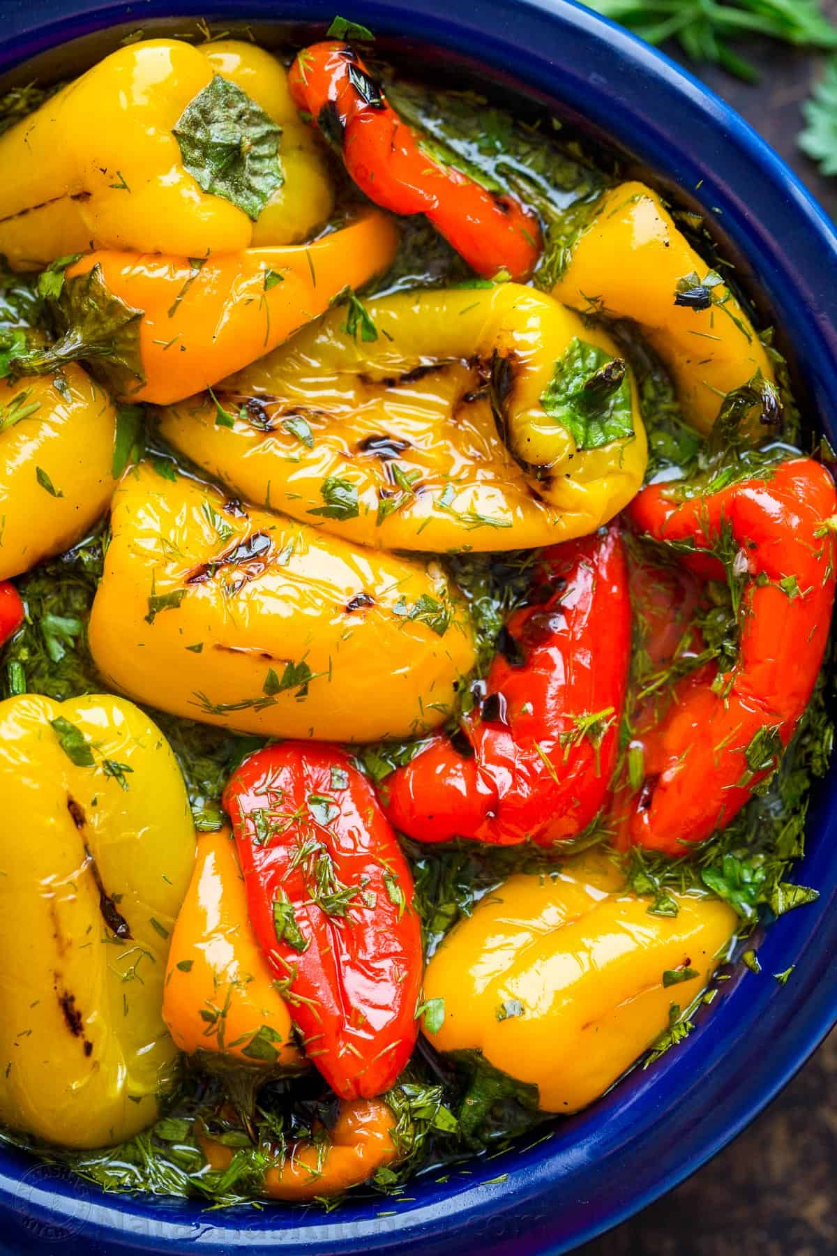 Baked peppers for the winter 100