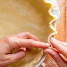 How to Make homemade easy pie crust recipe