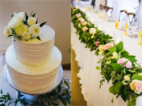 wedding cake and bridal cake decor