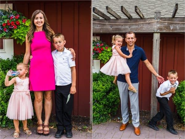 Natasha and Vadim with kids