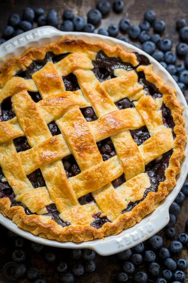 Homemade Blueberry Pie Recipe