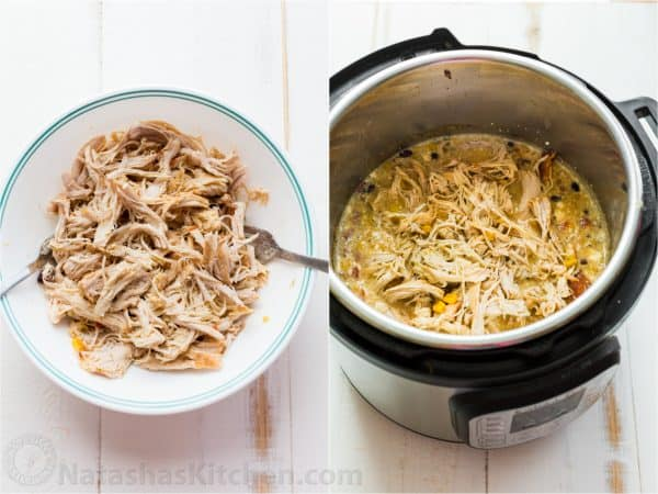 shredded chicken in instant pot